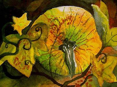 Tendrils Painting - Tendrils by Beverley Harper Tinsley