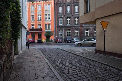 Jewish Heritage Photograph - Tenement Houses In Kazimierz District Of Krakow by Artur Bogacki