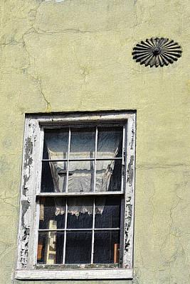 Photograph - Tenement Window by Nadalyn Larsen