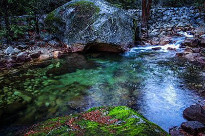 Teneya Creek Yosemite National Park Print by Scott McGuire