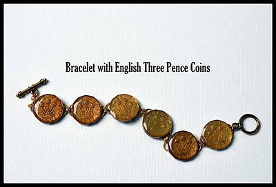Jewelry - English Three Pence Bracelet by Carla Parris