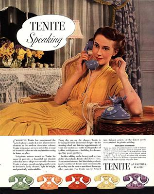 Tenite 1930s Usa Art Print by The Advertising Archives