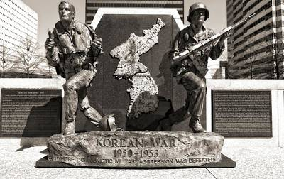 Downtown Nashville Photograph - Tennessee Korean War Memorial by Dan Sproul
