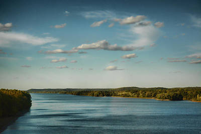 River Scenes Photograph - Tennessee River by Jai Johnson