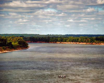 Tennessee River Morning - Water Scene Art Print by Jai Johnson