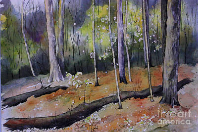 Tennessee Springtime Original by Janet Felts