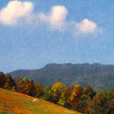 Art Print featuring the digital art Tennessee Stud by Spyder Webb