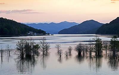 Tva Photograph - Tennessee Sunset - Watauga Lake by Brendan Reals