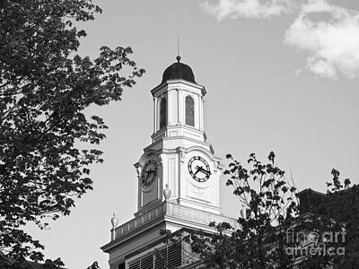 Tennessee Tech University Derryberry Hall Art Print by University Icons