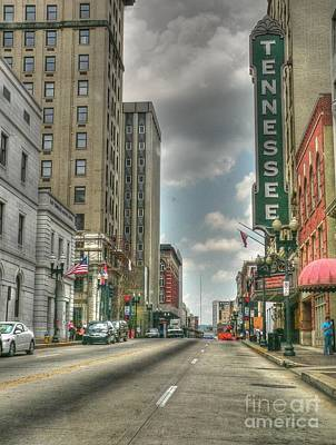 Photograph - Tennessee Theater by David Bearden
