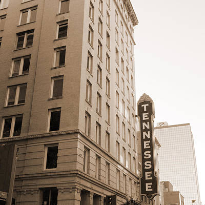 Photograph - Tennessee Theatre by Melinda Fawver