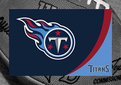 Titans Photograph - Tennessee Titans by Joe Hamilton