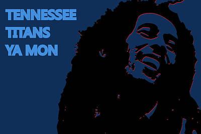 Drum Sets Photograph - Tennessee Titans Ya Mon by Joe Hamilton