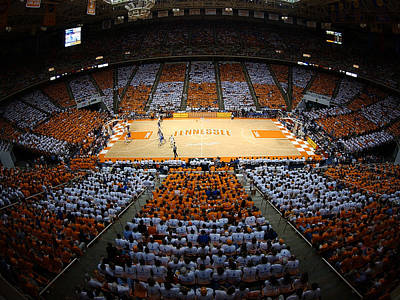 Knoxville Photograph - Tennessee Volunteers Thompson-boling Arena by Replay Photos