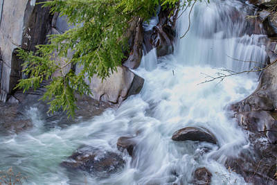 Photograph - Tennessee Waterfall by Shannon Harrington