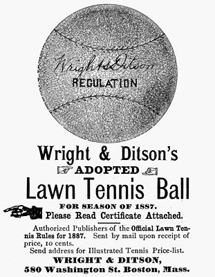 Tennis Ball, 1887 Art Print by Granger