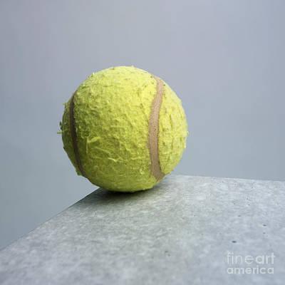Tennis Ball Photograph - Tennis Ball by Bernard Jaubert