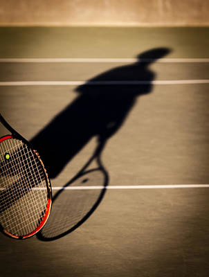 Sports Royalty-Free and Rights-Managed Images - Tennis by Caitlyn  Grasso