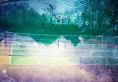 Photograph - Tennis Court by Frank Winters