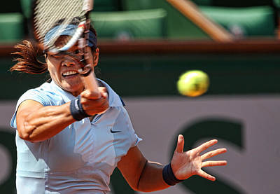 Li Na Photograph - Tennis Na Li by Srdjan Petrovic