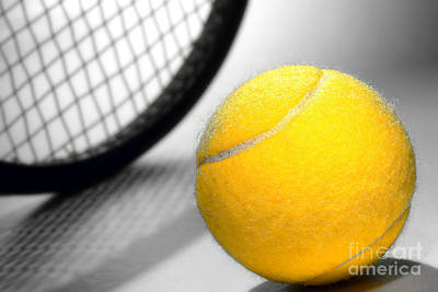 Athletic Photograph - Tennis by Olivier Le Queinec