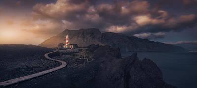 Canary Wall Art - Photograph - Tenoa?s Lighthouse by Iv?n Ferrero