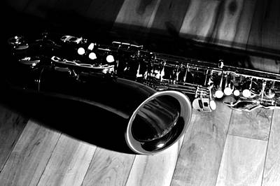 Tenor Photograph - Tenor Sax by Benjamin Yeager