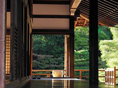 Photograph - Tenryui-ji - Temple - Kyoto by Jacqueline M Lewis