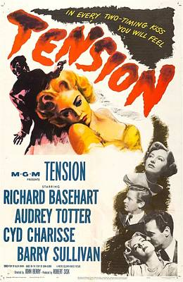 Charisse Photograph - Tension, Us Poster, From Top Audrey by Everett