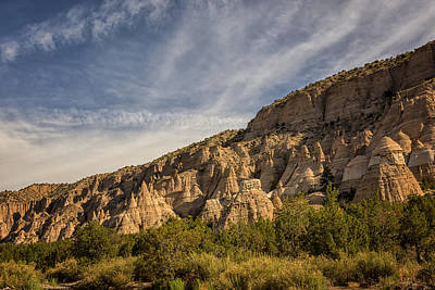 Photograph - Tent Rocks National Monument 4 - Santa Fe New Mexico by Brian Harig