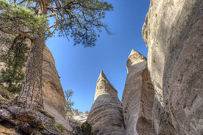 Photograph - Tent Rocks, New Mexico by Mark Newman