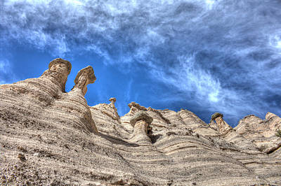 Art Print featuring the photograph Tent Rocks No. 1 by Dave Garner