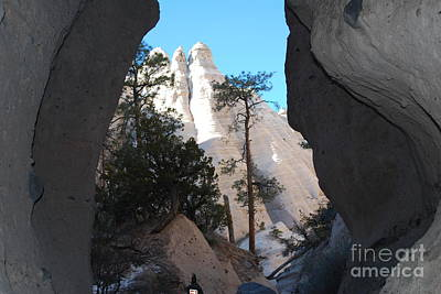 Art Print featuring the photograph Tent Rocks by William Wyckoff