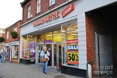 Photograph - Tenterden Woolworths Store by David Fowler
