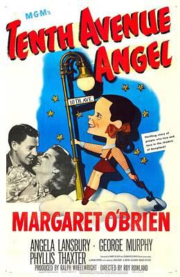 Tenth Avenue Angel, Us Poster Art Print by Everett