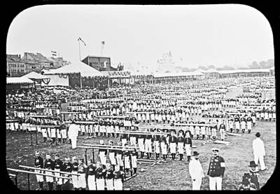 New Years - Tenth Gymnastic Festival Parallel Bars Hamburg Germany 1903 by A Macarthur Gurmankin