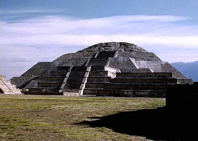 Photograph - Teotihuacan - Pyramid Of The Moon by Robert  Rodvik