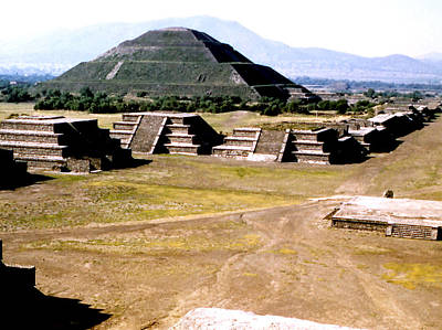 Teotihuacan - Pyramid Of The Sun Art Print