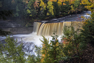 Photograph - Tahquamenon Falls In Upper Peninsula Of Michigan by John McGraw