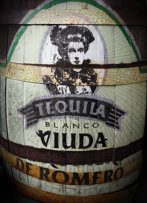Tequila Advert Art Print by Norman Pogson