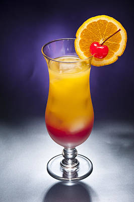 Photograph - Tequila Sunrise Cocktail by U Schade