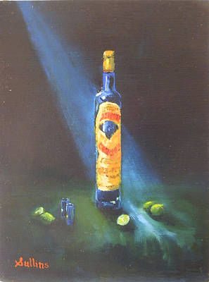 Corralejo Painting - Tequila Sunsets by David Sullins