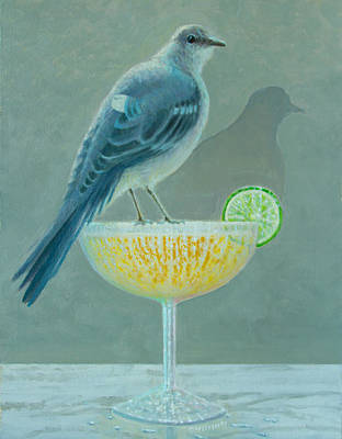 Mockingbird Painting - Tequila Mockingbird by Don Young