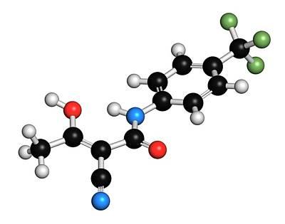 Multiple Sclerosis Photograph - Teriflunomide Multiple Sclerosis Drug by Molekuul