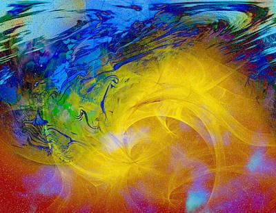 Digital Art - Teri's Energy Series 13 by Teri Schuster