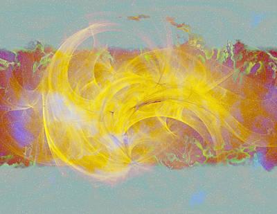 Digital Art - Teri's Energy Series 7 by Teri Schuster