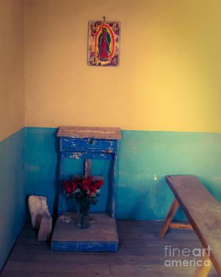 Terlingua Church Offering Art Print by Sonja Quintero