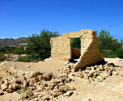 Photograph - Terlingua Texas Ghost Town by Linda Cox