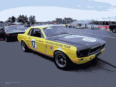 Photograph - Terlingua Trans Am Mustang As Driven By Jerry Titus by Don Struke