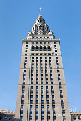 Photograph - Terminal Tower I by Clarence Holmes